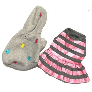 🥳 4/$30 | Pet Clothes Outfit Sweater and Dress